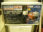 "6"" Combi Bench Grinder/Wire Brush"