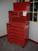 8 Drawer Top & 5 Drawer Rollaway Combination