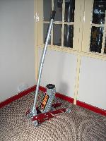 2.5ton Alli/Steel Rocket Lift Racing Trolley Jack